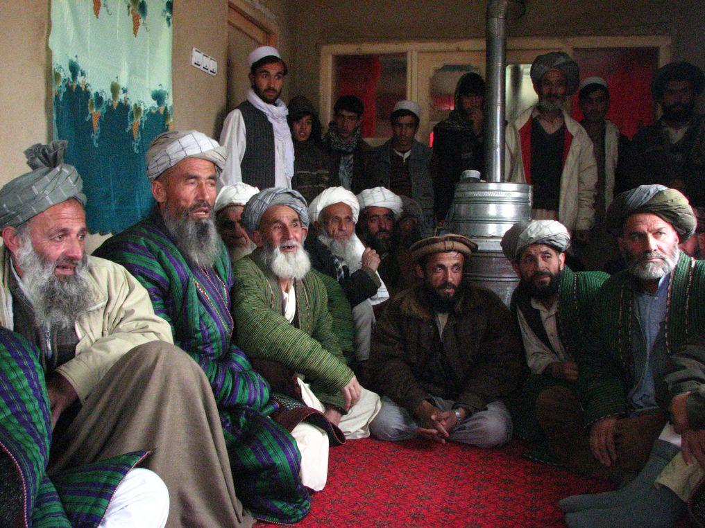 La production de pavot en Afghanistan