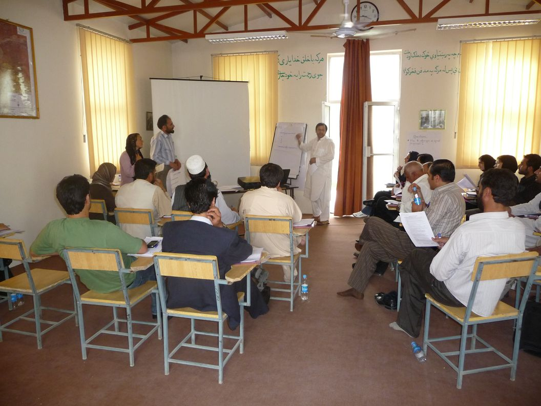 Training of Afghan managers working for international N[...]