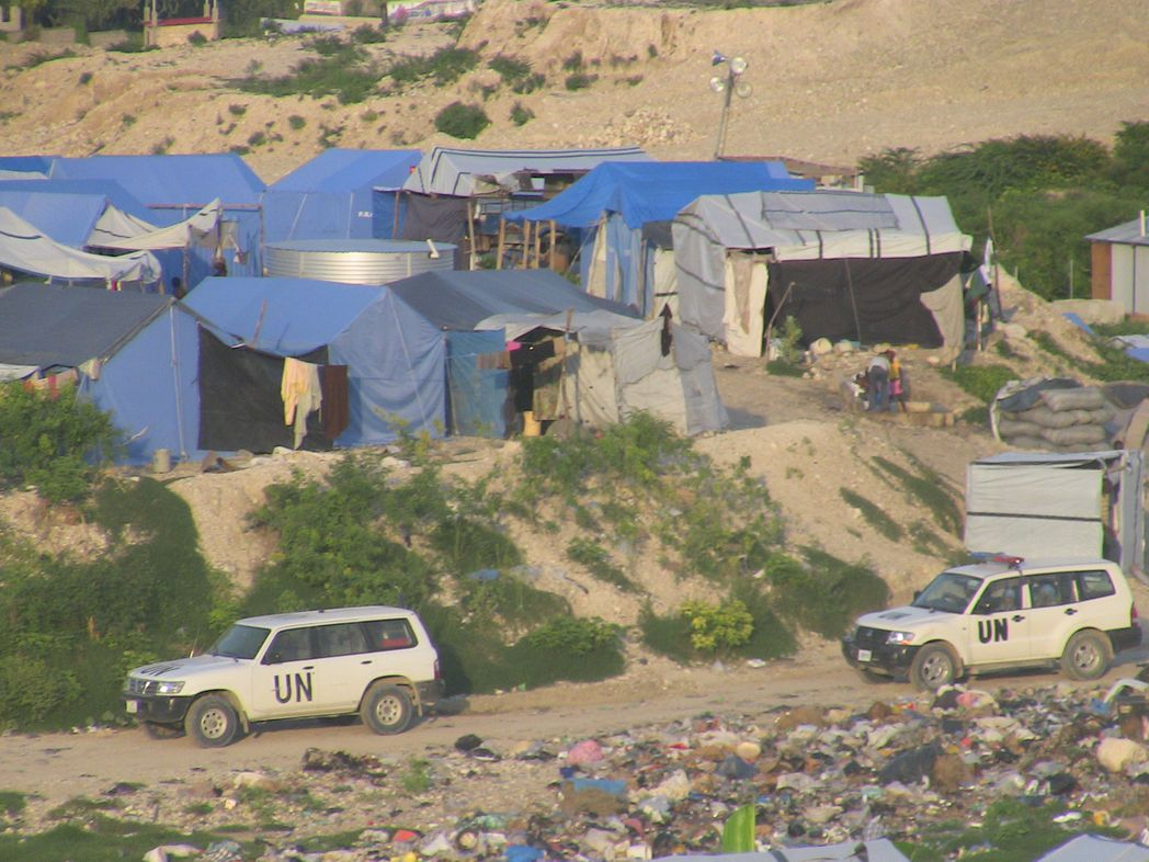 Security and Humanitarian Aid in Haïti