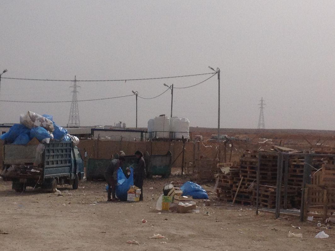 La gestion des déchets et du recyclage dans le camp de [...]