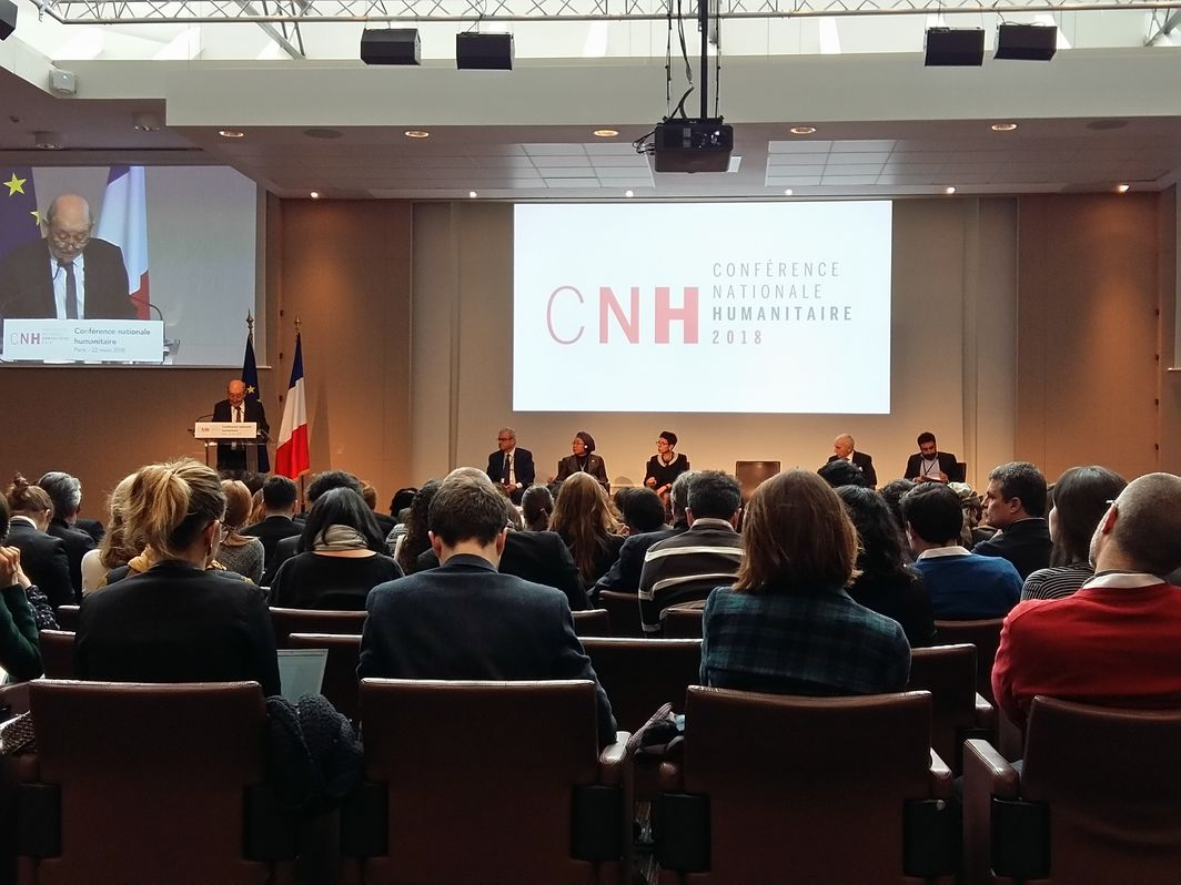4th French National Humanitarian Conference, March 2018