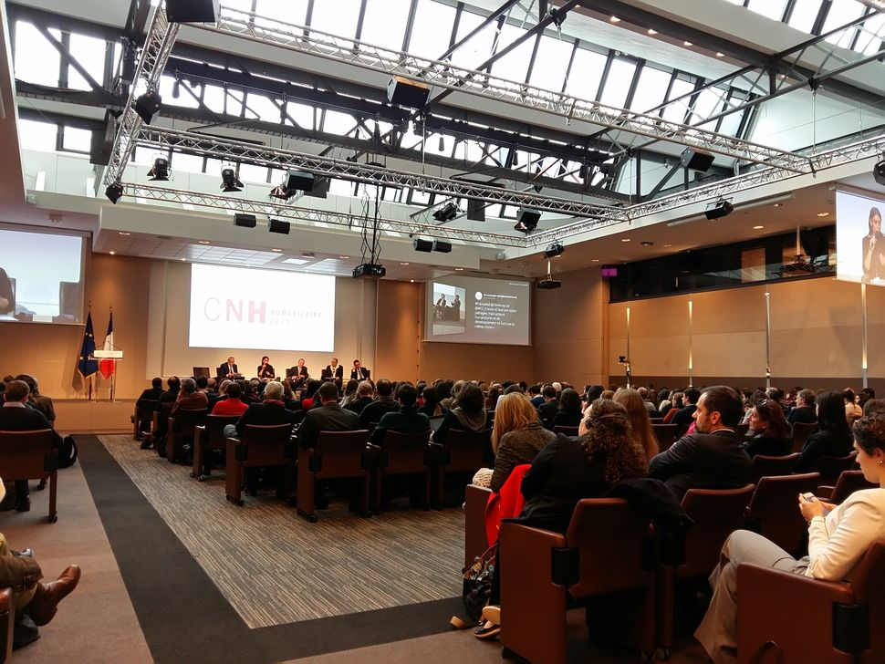 1st French National Humanitarian Conference, november 2[...]