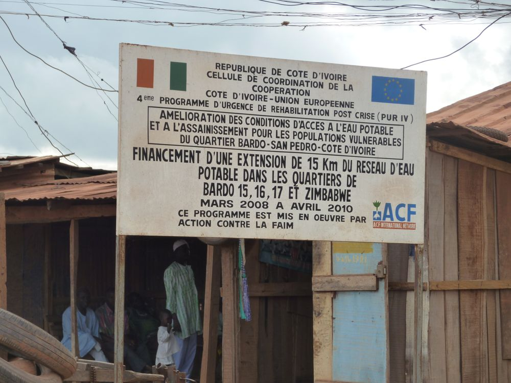 Evaluation of a WASH project by ACF in the Ivory Coast