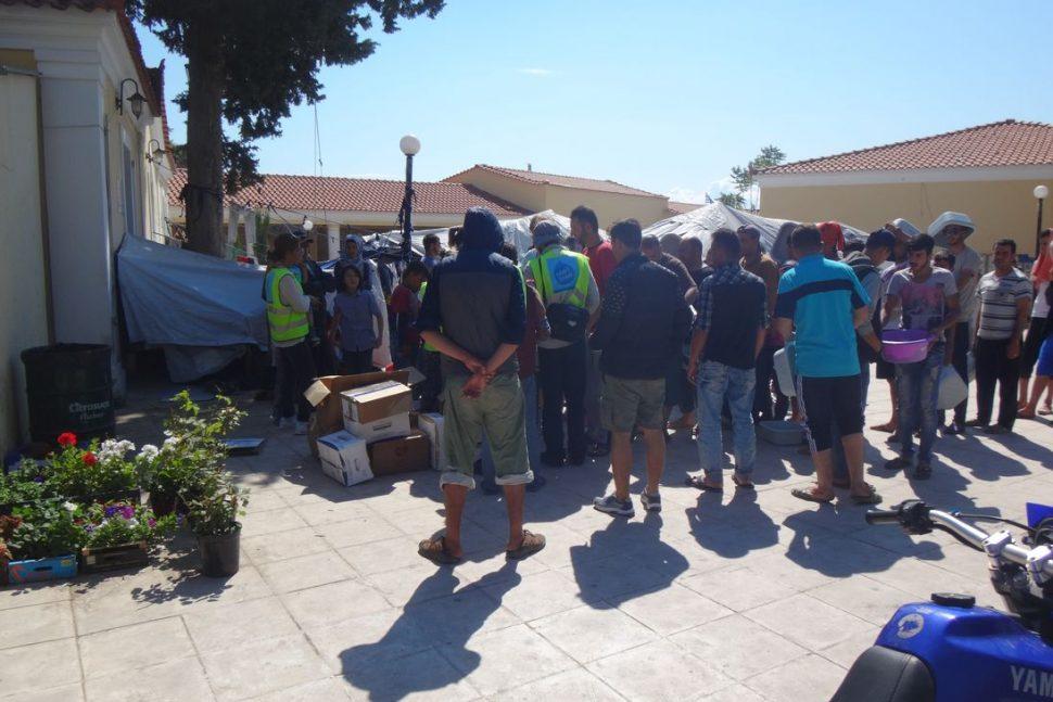 Migrants Grêce